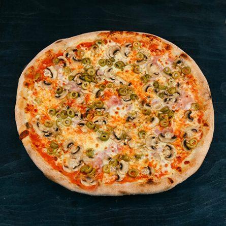 5.Pizza Olivo Funghi