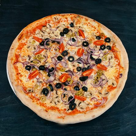 10.Pizza Vegetariana