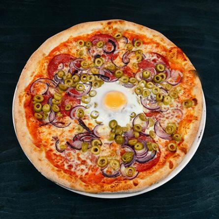 Pizza Uovo
